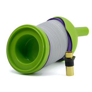 Collapsible Plastic Smoke Pipe