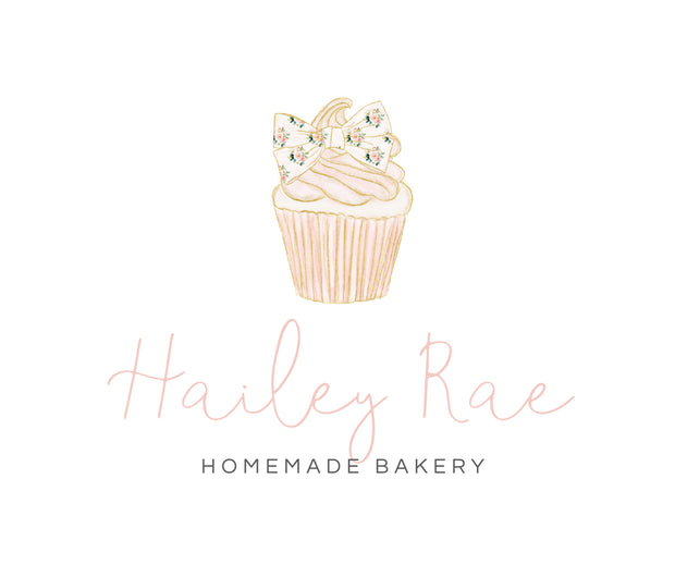 Editable Bakery Logo Template