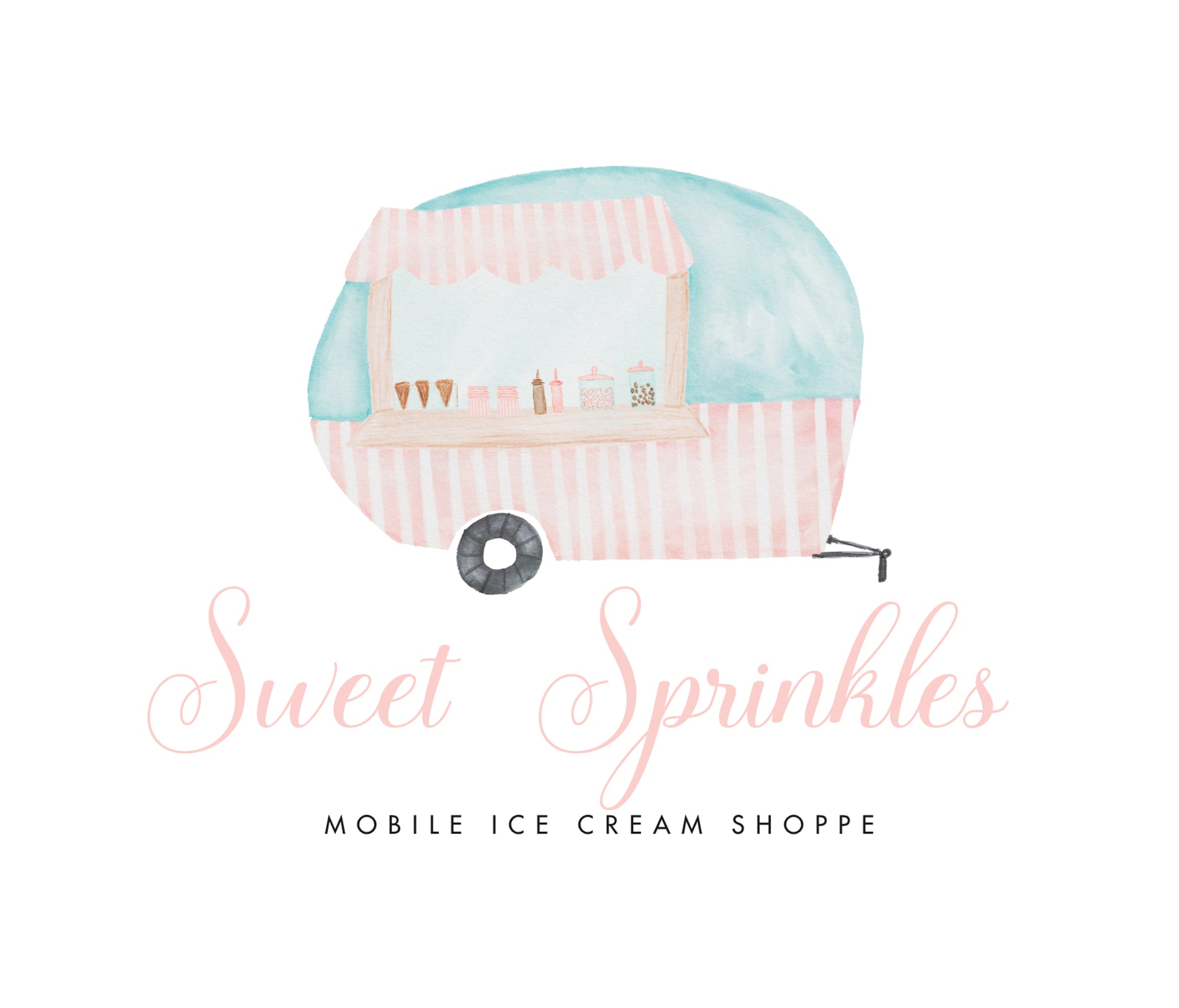 Ice Cream Shoppe Logo