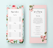 Editable Bakery Rack Card