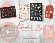 Christmas Joy Illustration Pack