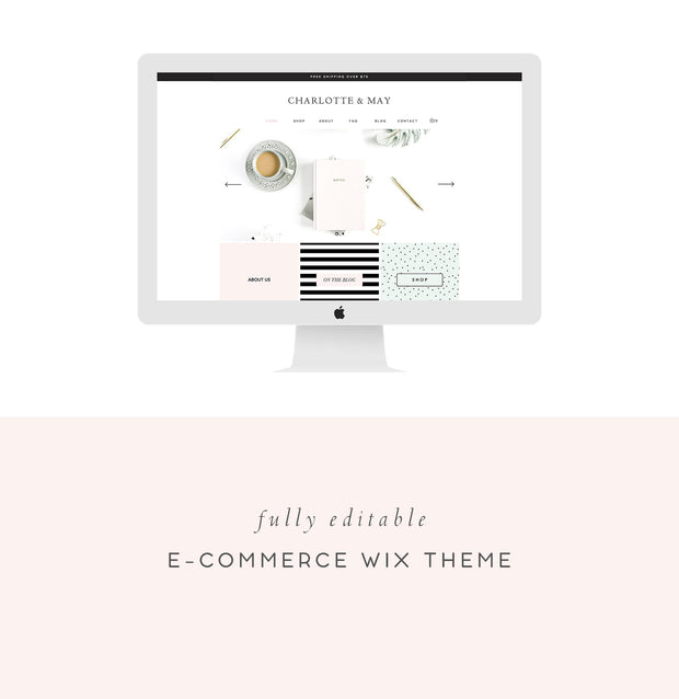 Wix e-Commerce Template