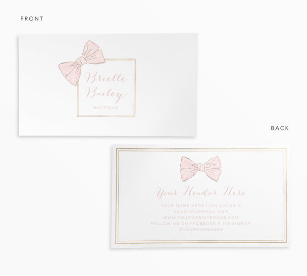 Editable Boutique Branding Set