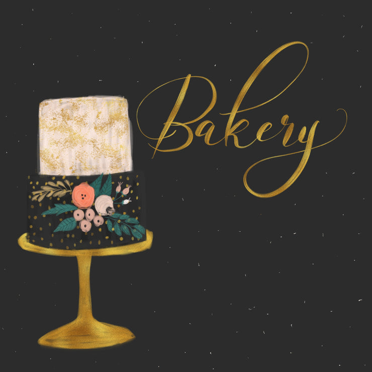Bakery Digital Paper