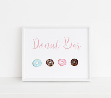 Donut Sign