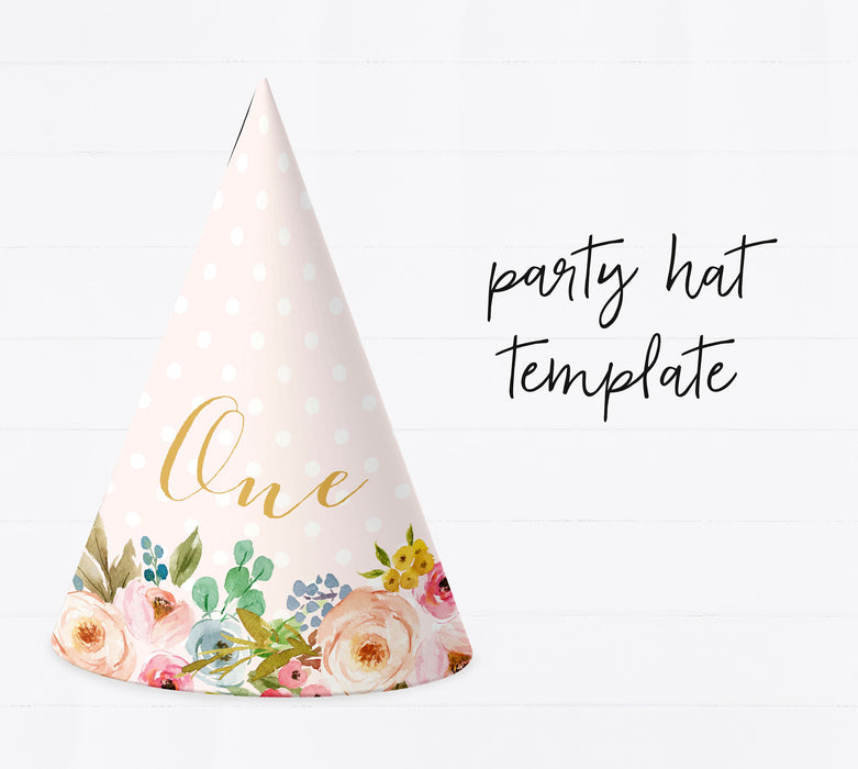 Editable Party Hat