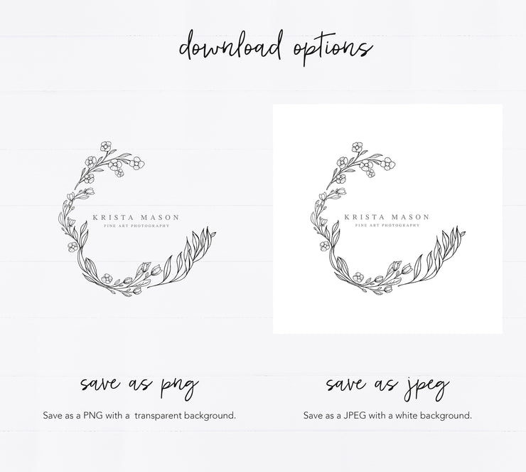 Editable Logo Template