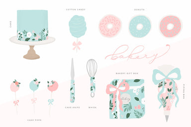 Bakery Clipart Pack