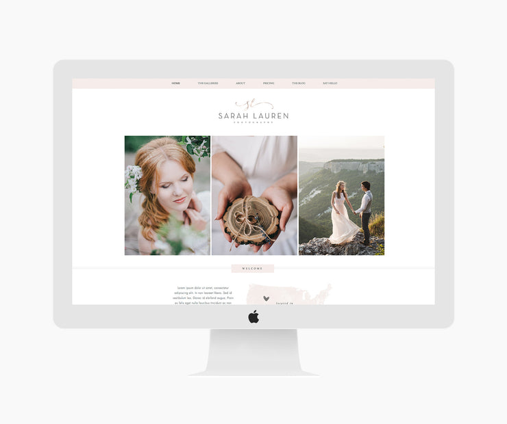 Wix Photography Website