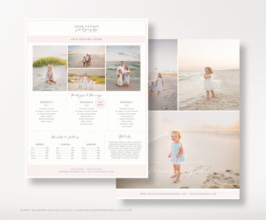 Photographer Pricing Guide Template