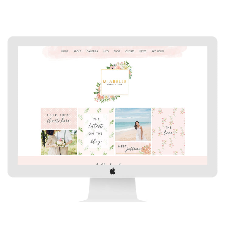 Event planner Wix Website