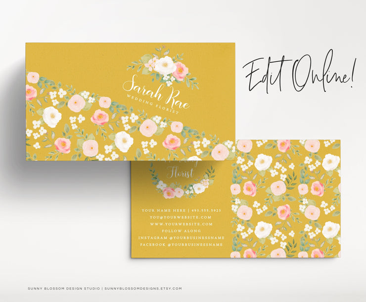Editable Business Card