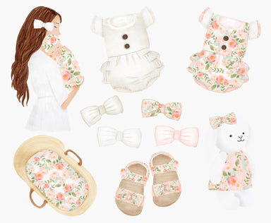 Mother & Baby Clipart