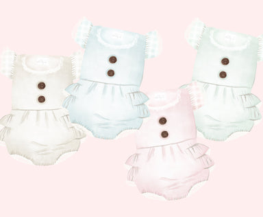 Baby Rompers Clipart