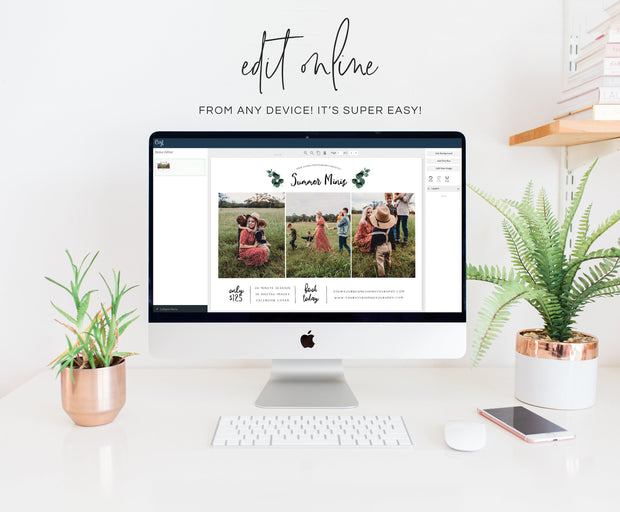 Editable Summer Session Template