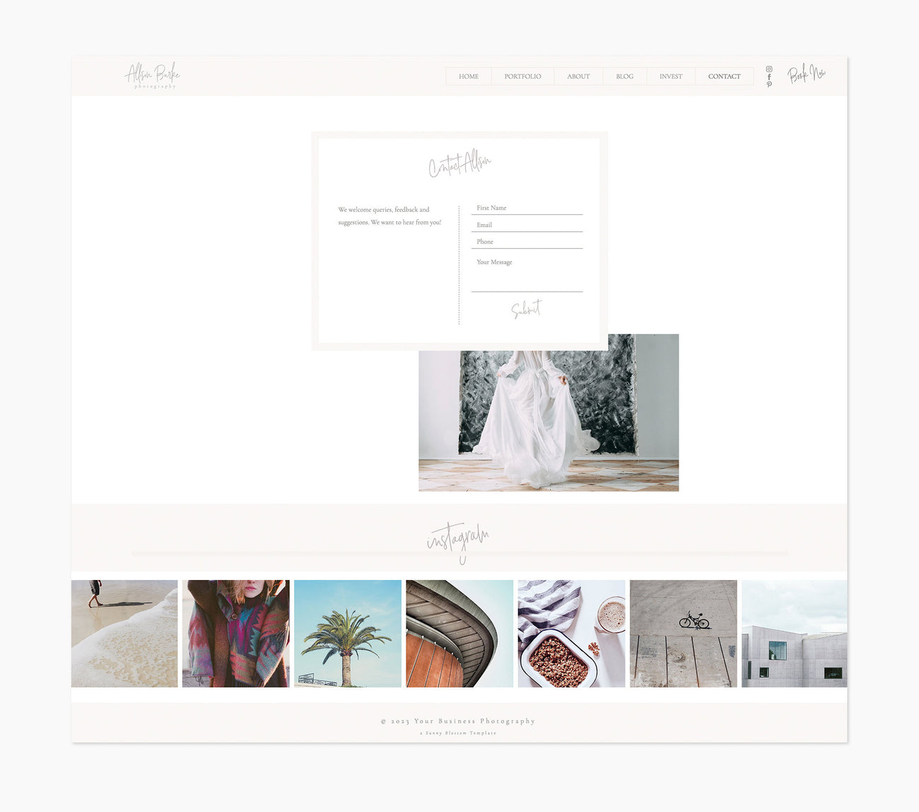 NEW* Wix Photography Website
