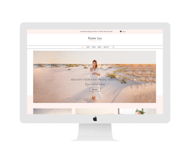 NEW* Wix Boutique Website