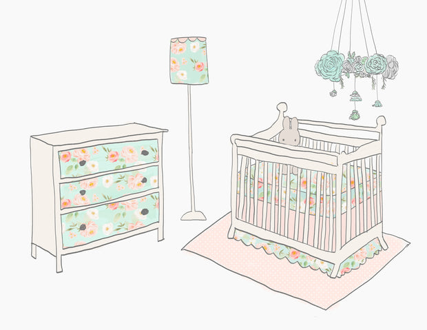 Nursery Furniture Clipart