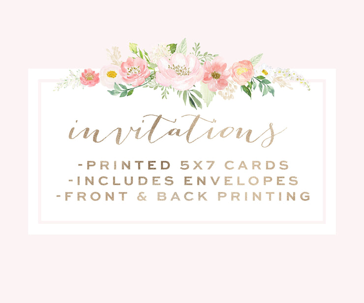 Printing Services for any Invitation Printable