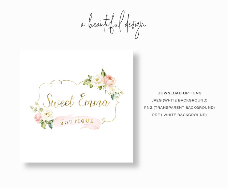 Editable Boutique Logo
