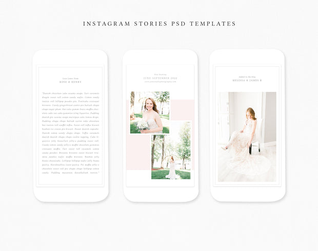 Instagram Story Templates for Photographers