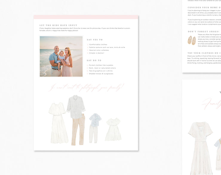 Photography Style Guide Template