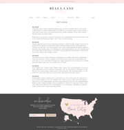 Wix e-Commerce Website Template