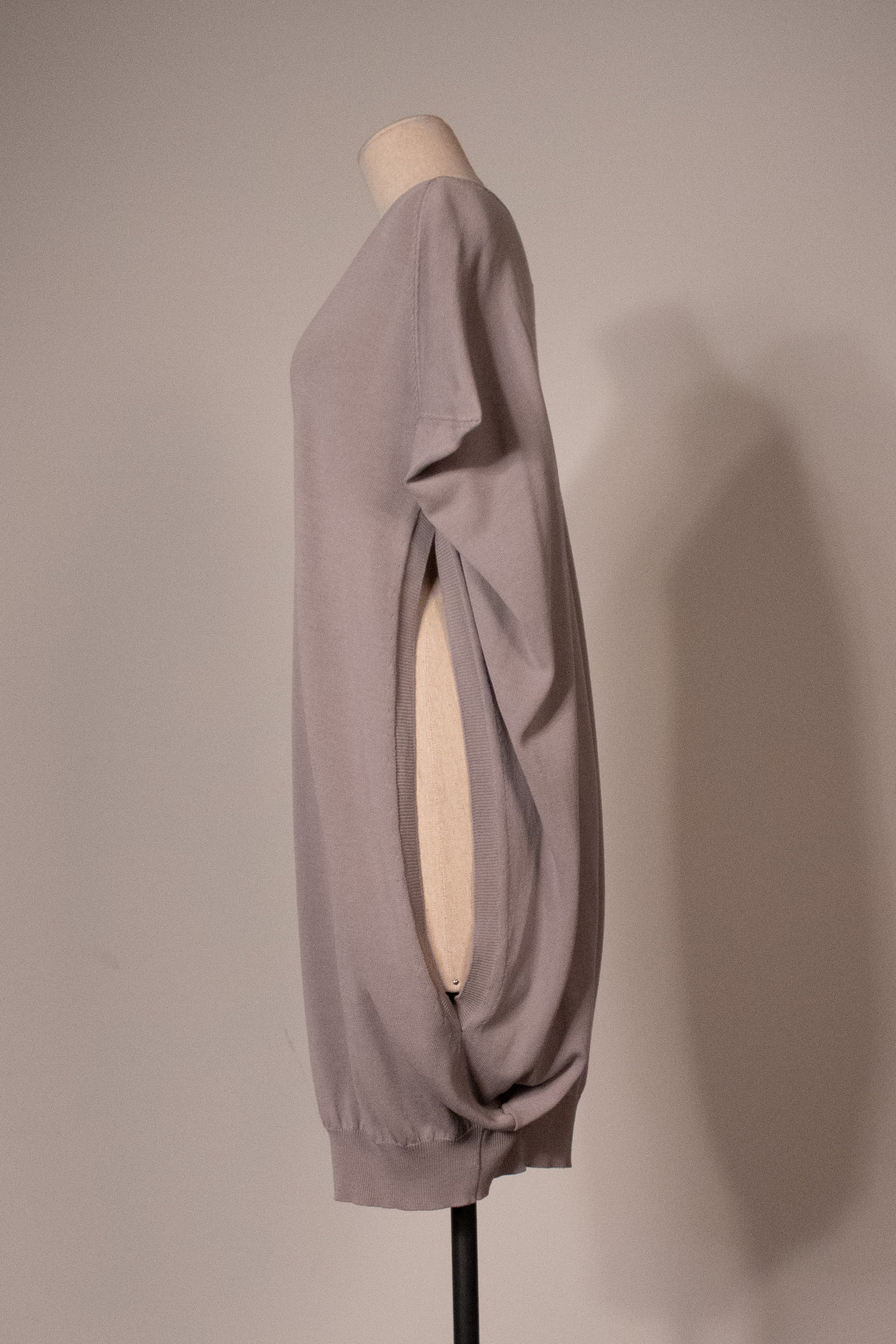 Martin Margiela grey knit dress