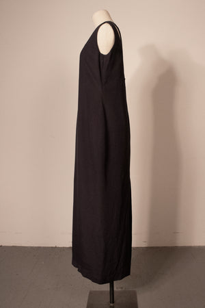 Maison Margiela grey wool maxi dress