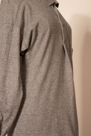 Miyake Plantation grey thermal cotton henley