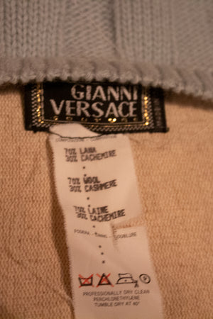 Gianni Versace cashmere blend tank