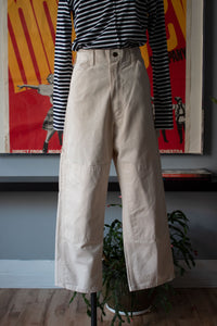 Stan Ray cream cotton cargo pants