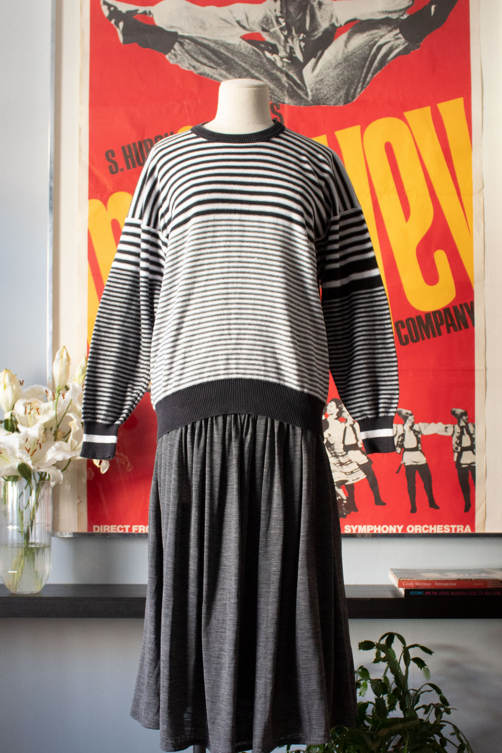 Sonia Rykiel stripped cotton crewneck sweater