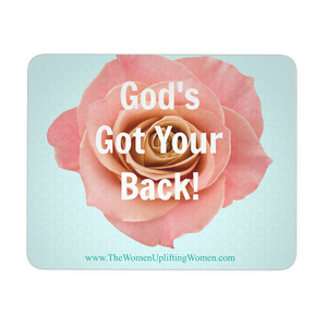 God's Got Your Back! - Mouse Pad