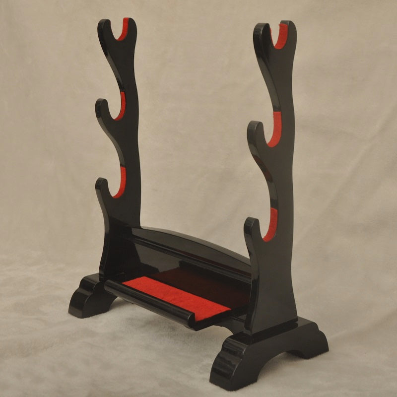 Black Gloss 3 Sword Stand