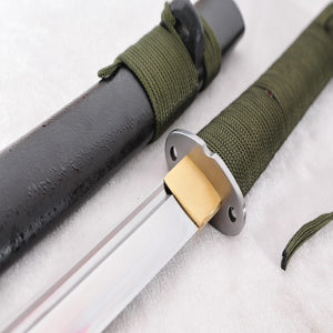 Hand Forged Tactical Wakizashi Survival Samurai Sword