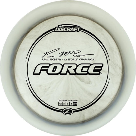Z Force Paul McBeth Signature Series
