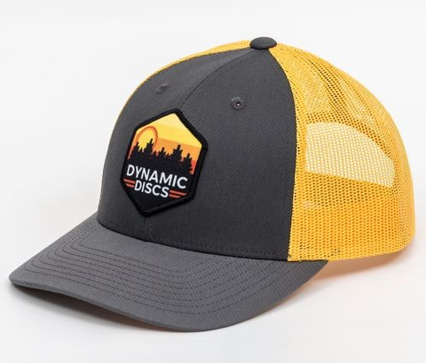 Sunset Hex Snapback Hat