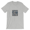 Compassionate | Vegan T Shirt Athletic Heather / S Earth Supply