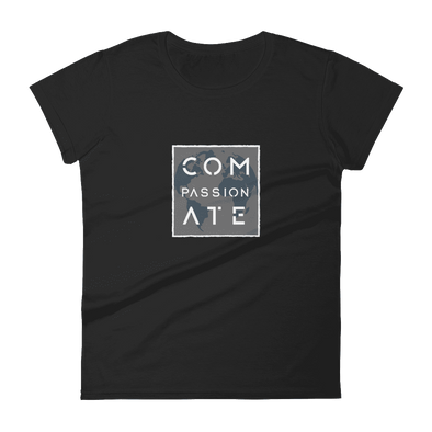 Compassionate | Vegan Tee Black / S Earth Supply