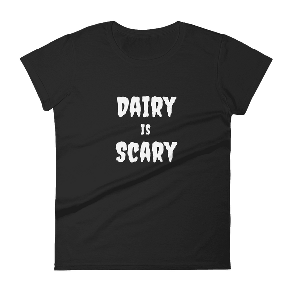 Dairy is Scary | Vegan Tee Black / S Earth Supply