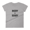 Dairy is Scary | Vegan Tee Heather Grey / S Earth Supply