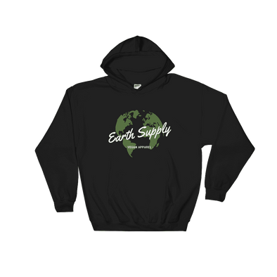 Earth Supply | Vegan Hoodie Black / S Earth Supply