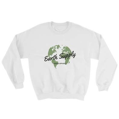 Earth Supply | Vegan Sweatshirt White / S Earth Supply