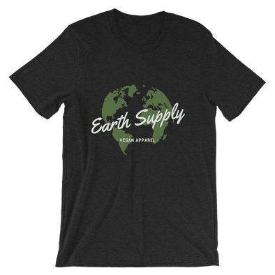Earth Supply | Vegan T Shirt Black Heather / S Earth Supply