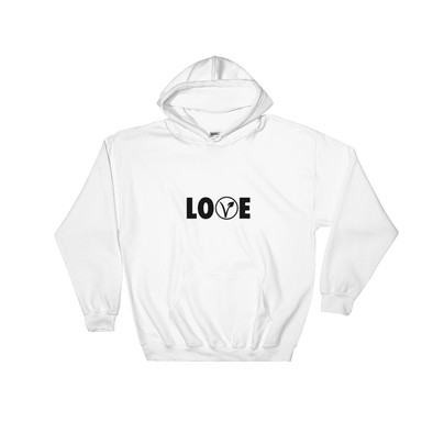 Love | Vegan Hoodie White / S Earth Supply