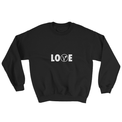 Love | Vegan Sweatshirt Black / S Earth Supply