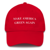 Make America Green Again | Dad Hat Red Earth Supply