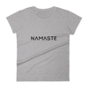 Namaste | Vegan Tee Heather Grey / S Earth Supply