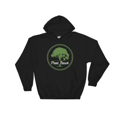 Plant Based | Vegan Hoodie Black / S Earth Supply